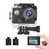 Jadfezy Action Camera 1080P Waterproof Camera Underwater 40M with...