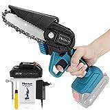 Mini Chainsaw, Merecedeu 4 Inch 20v Electric Chainsaw, Portable...