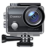 Crosstour Action Camera, Underwater camera Full HD 14MP Camcorder...
