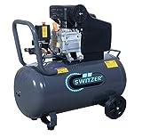 SwitZer Air Compressor 50L Litre LTR Tank 2.5HP 8 BAR Pressure...