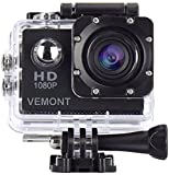 VEMONT Full HD 2.0 Inch Action Camera 1080P 12MP Sports Camera...
