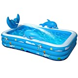 VOXON Inflatable Swimming Pool, Padding Pool Swim Centre Pools...