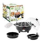 Nutri-Q 31729 Egg Cooker | Healthy Eating | Omelette Maker | Boil...