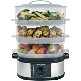 Morphy Richards 48755 3 Tier Food Steamer Three Tier Stainless...