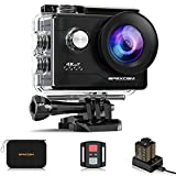 Apexcam 4K Action Camera 20MP 40M Waterproof Sports Camera for...