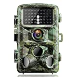 Campark Wildlife Trail Camera 14MP 1080P Trap with Infrared Night...