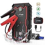 UTRAI Car Jump Starter, 2000A Peak 22000mah Portable Car Battery...