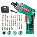 Electric Screwdriver, 6N·m Max Torque HYCHIKA Cordless...