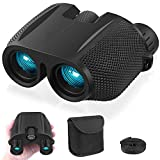NEXGADGET 10x25 Compact Binoculars for Adults with Fully...