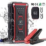 Car Jump Starter, 1500A Peak Moto Battery Booster Power Pack (All...