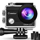 Crosstour Wifi Action Camera Full HD 14MP Cycling Riding Webcam...