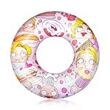 Pool Floats for Kids and Adults, Swimming Rubber Ring Inflatable...