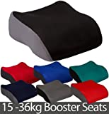 All Ride Small Polystyrene Booster Car Seat - Black