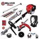 BU-KO 2019 52cc Long Reach Petrol Multi Functional Garden Tool...