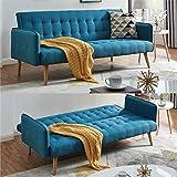 Scandi Scandinavian Style Chic Contemporary Sea Blue Comfortable...