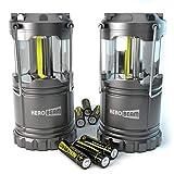 HeroBeam 2 x LED Lantern - THE ORIGINAL Collapsible Tough Lamp...