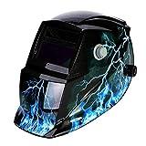 LESOLEIL Electrical Welding Helmet Mask - Li-Mi&Solar Powered...