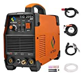 HITBOX TIG Welding Machine Portable 200 amp High Frequency 220V...