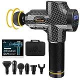 Massage Gun ALDOM Massage Gun Deep Tissue, 30 Speeds Handheld...