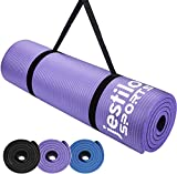 Jestilo Yoga Mat for Women and Men  Non-slip NBR exercise mat  ...