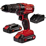 Einhell TC-CD 18-2 Li-i 18 V Cordless Combi Drill Kit (Includes 2...