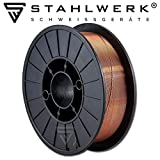 STAHLWERK MIG/MAG welding wire Ø 0,8 mm, steel SG3 ER70S-6, on...