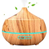 INSMART Essential Oil Diffuser, 400ml 4 Timer Ultrasonic Aroma...