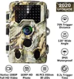 AlfaView [2019 Upgraded] 16MP 1080P HD Game Hunting Trail Camera...