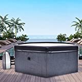 CosySpa Deluxe Foam Hot Tub Spa [4-6 People] | Quick Heating...