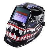OHMOTOR Auto Darkening Solar Powered Welding Helmet Welders Mask...