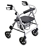 Lightweight rollator LR, walker, cane, 53 cm or 56 cm seat...