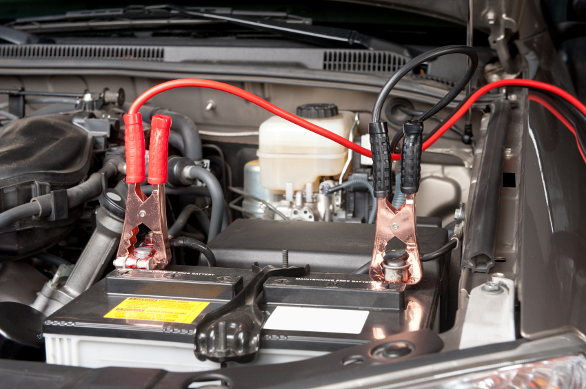how to charge car battery