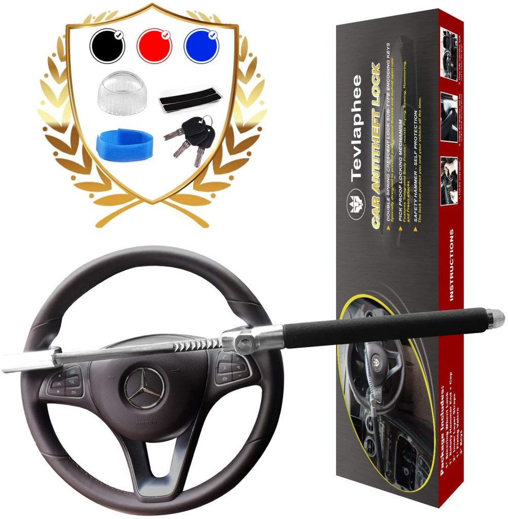 Tevlaphee Car Steering Wheel Lock
